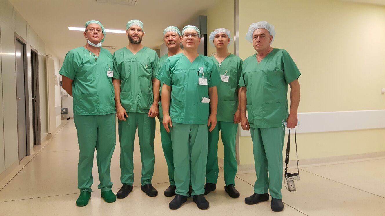 Russland: Weiterbildung an deutschen Kliniken für Ärzte aus Chanty-Mansijsk, August – November 2017
